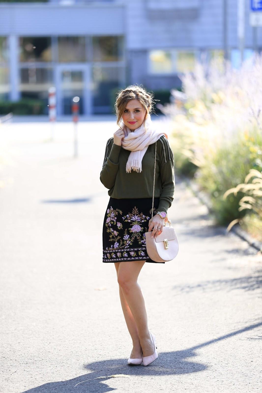 German Fashionblogger Oasis Rock - Zara Schuhe - Rosa Pumps - Rosa High Heels - Wildlederschuhe - Rosa Schuhe kombinieren - Chloe Tasche Blogger - Blogger aus Deutschland