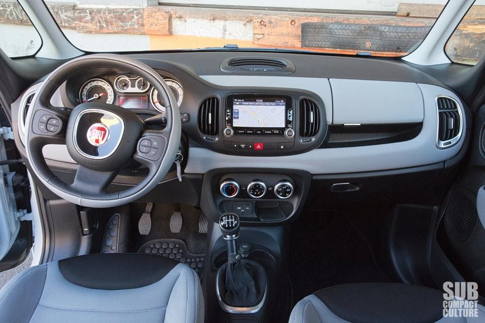 Great 2014 Fiat 500L Interior