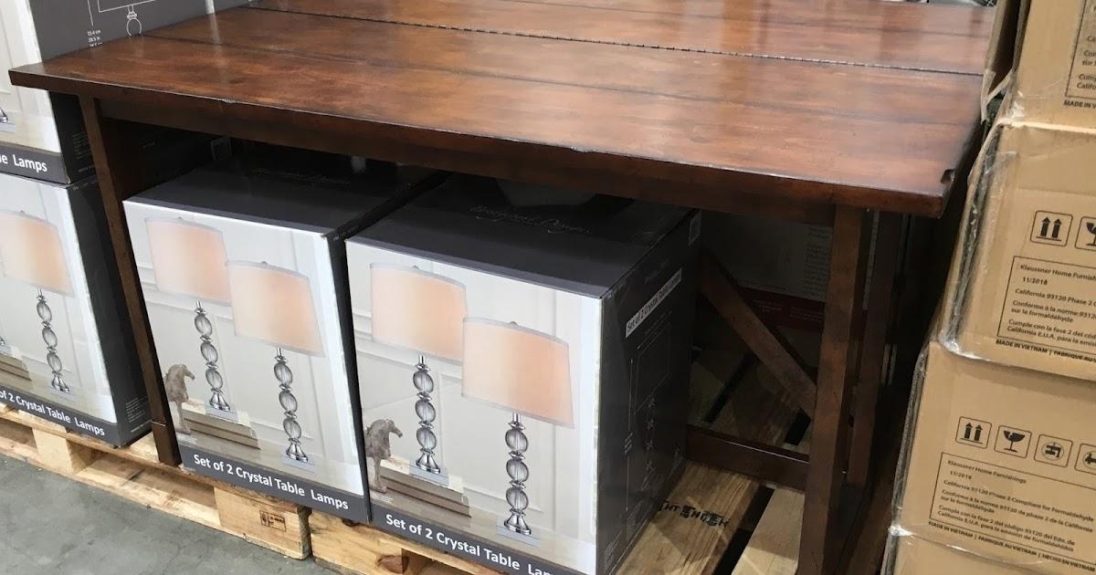 Http Www Costcoweekender Com 2016 07 Klaussner Multifunctional Table Costco 639057 Html