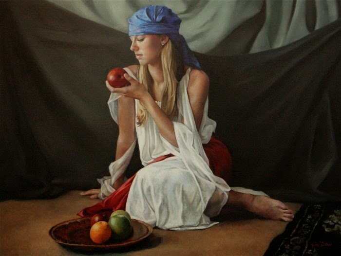 Фигуративная живопись. Kimberly Dow