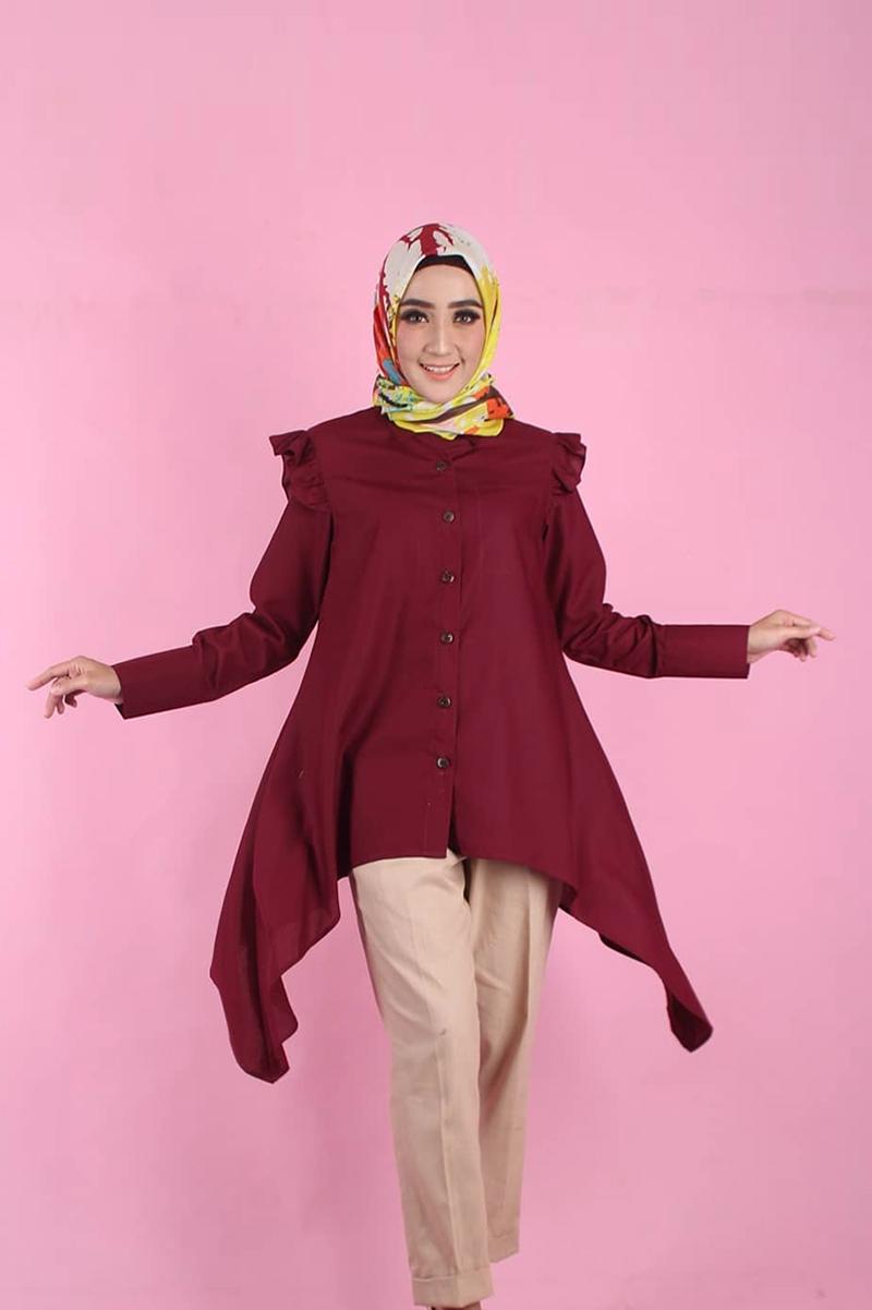 Penty Nur Afiani artis FTV INdosiar yang pakai Hijab