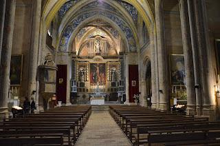 Cordes-sur-ciel. Eglise de Saint-Michel