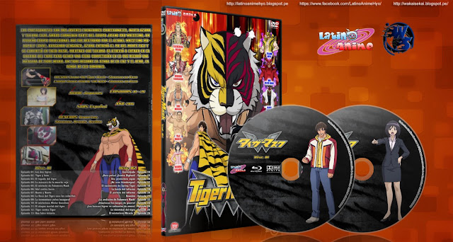 Tiger Mask W | Cover DVD |