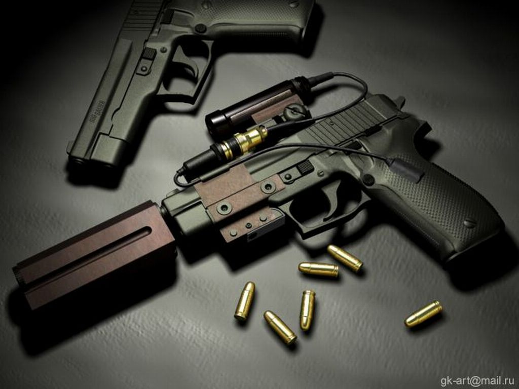 Wallpaper Pistols Sig Sauer P226 Army: Weapons