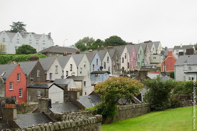 Casas colores Cobh Irlanda