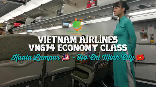 Review: Vietnam Airlines VN674 Economy Kuala Lumpur - Ho Chi