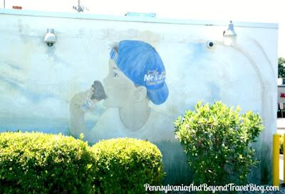 The Meadows Original Frozen Custard Wall Mural in Harrisburg, Pennsylvania
