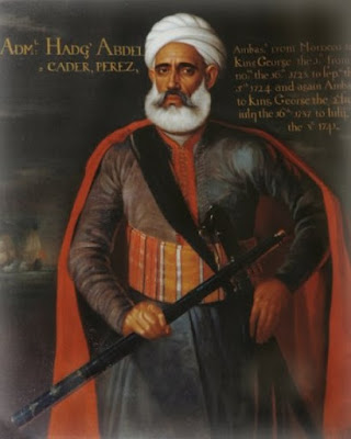 Portrait of Ambassador Admiral Abdelkader Perez 1737