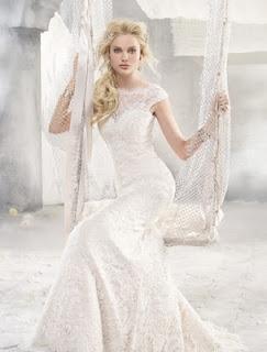 Vestidos de novia elegante y novedoso