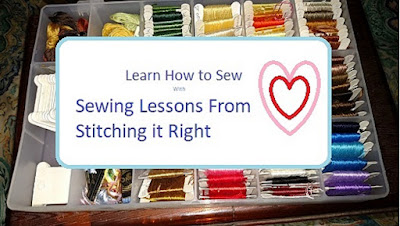 Sewing Lessons from Stitching it Right