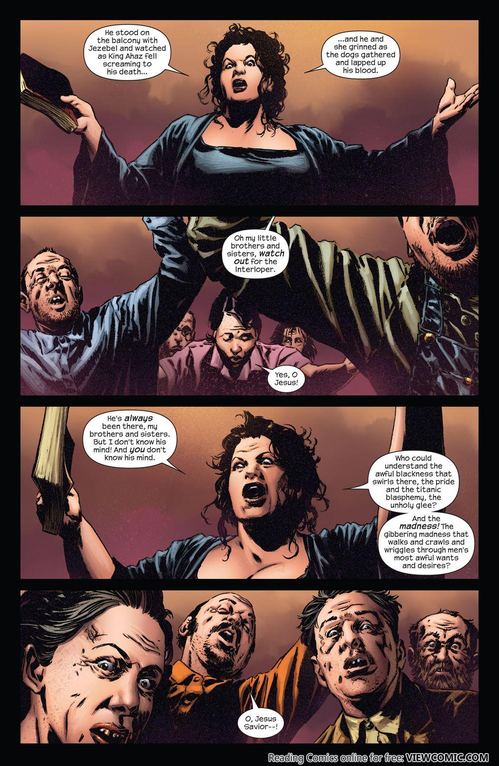The Dark Tower The Gunslinger The Battle Of Tull 03 Of 05 2011 Viewcomic Reading Comics Online For Free 2019