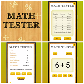 Math Tester the fastest Math Speed Testing App on the Store free download here