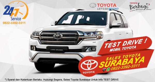 Info Test Drive Mobil Toyota Land Cruiser Surabaya