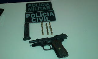 Polícia Civil e Militar cumprem mandado de busca em Nova Floresta