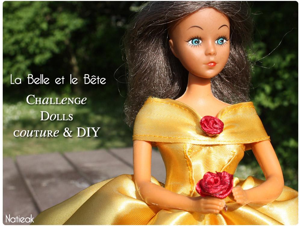 Challenge Dolls, couture et DIY  La Belle et la Bête