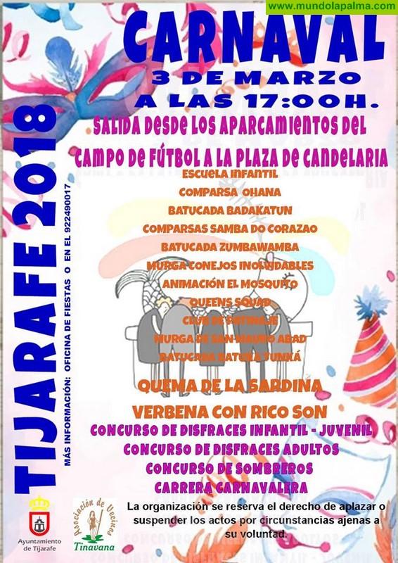 Entierro Sardina Tijarafe 2018