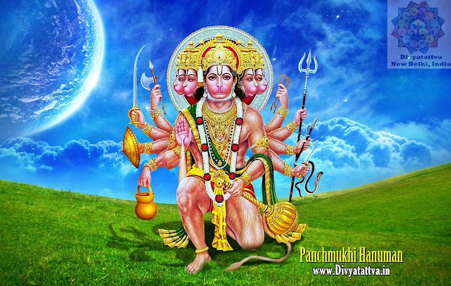 Panchmukhi Hanuman Wallpapers, free 4k ultra HD lord Hanuman, spiritual Wallpapers and Backgrounds