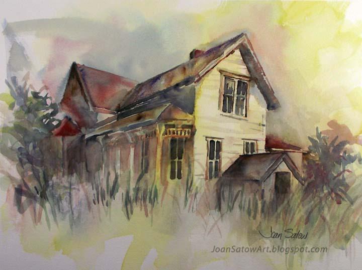 Joan Satow Watercolor Paintings