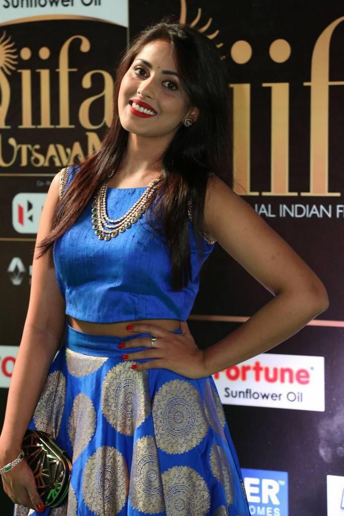 Actress Madhu Shalini Images At IIFA Utsavam Awards 2017