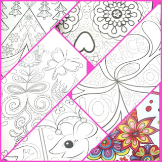 samples Don't Worry Be Happy Coloring Treasury
