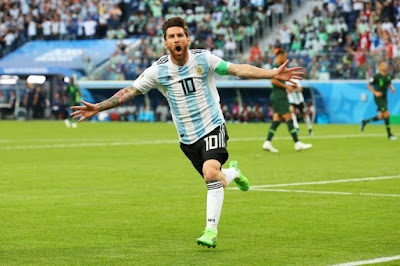 Highlight Nigeria 1-2 Argentina, 26 Juni 2018