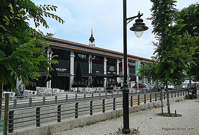 Fachada posterior do Mercado da Ribeira, Lisboa