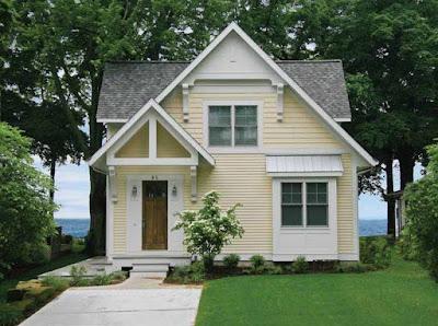 Desain Rumah Kayu Dipinggir Pantai
