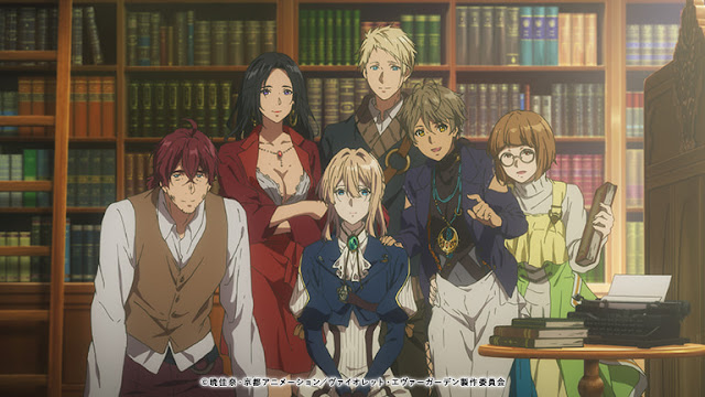 Violet Evergarden Novel Author's Comment For The Anime