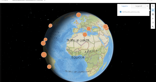 Earthquakes on 3 May 2017