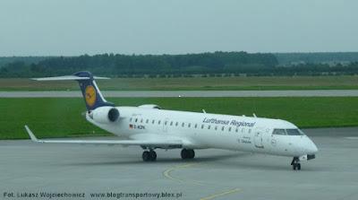 Canadair Regional Jet 700 o rejesrtacji D-ACPK  z linii Lufthansa CityLine