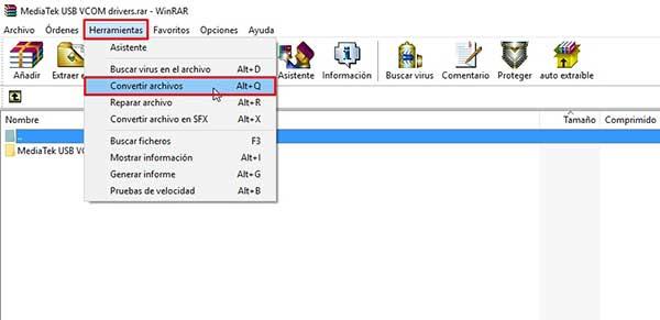 Cómo añadir password en un archivo comprimido zip o rar