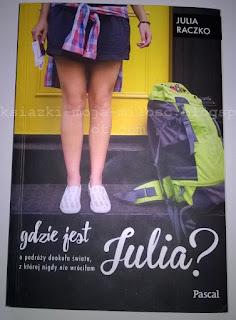 okładka książki Gdzie jest Julia