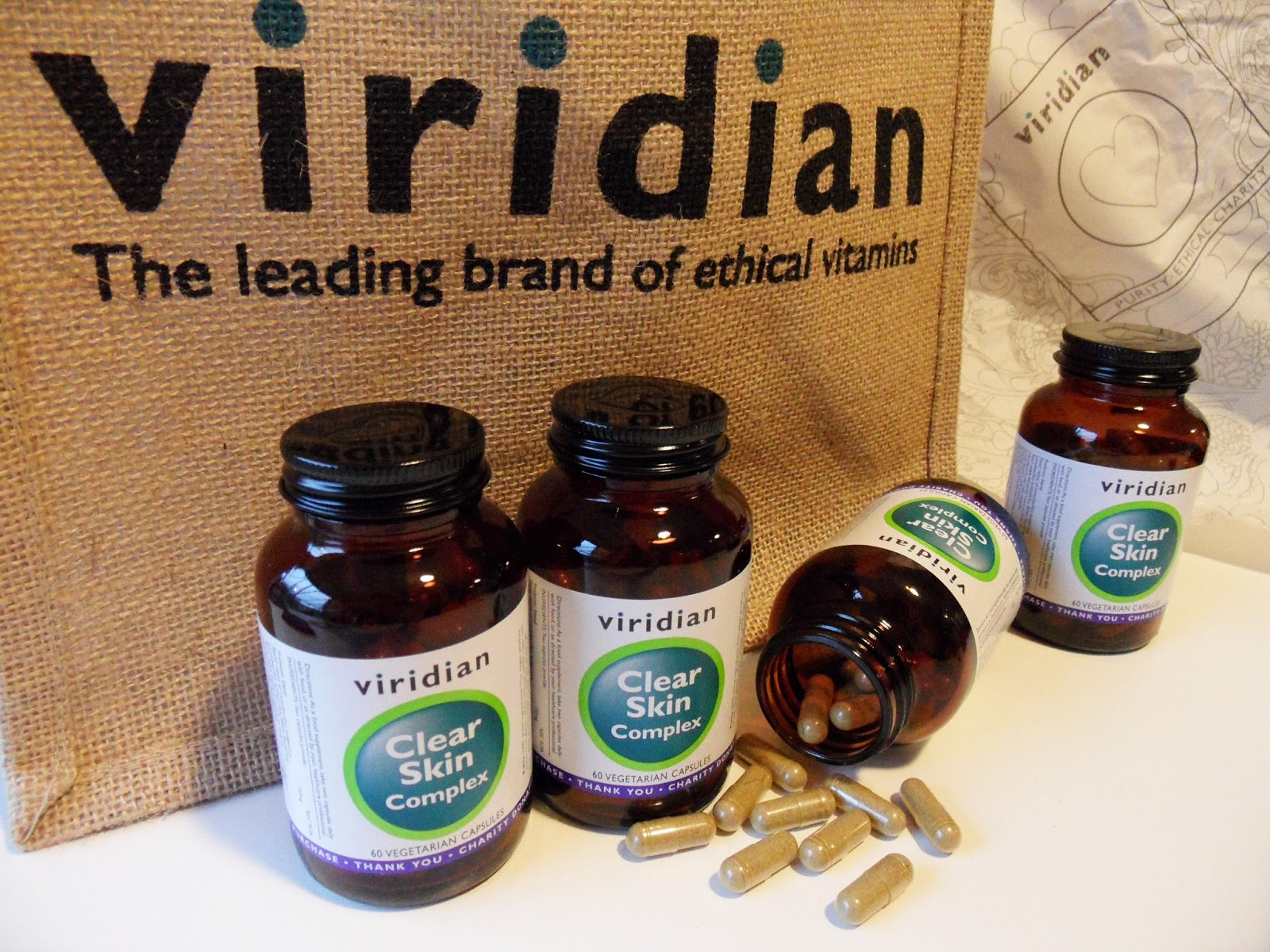 CLEARER SKIN WITH VIRIDIAN NUTRITION EYE:INERFLICKS.COM