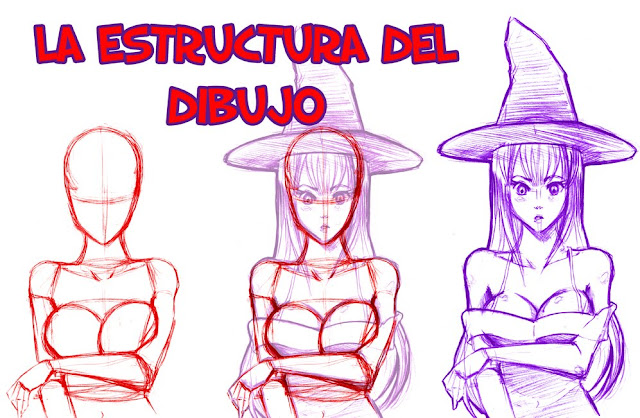 Resultado de imagen para estructuras del dibujo manga