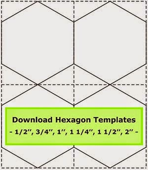 Number Names Worksheets hexagon printable template : Patchwork Templates To Print. 10 off printable quilting designs ...