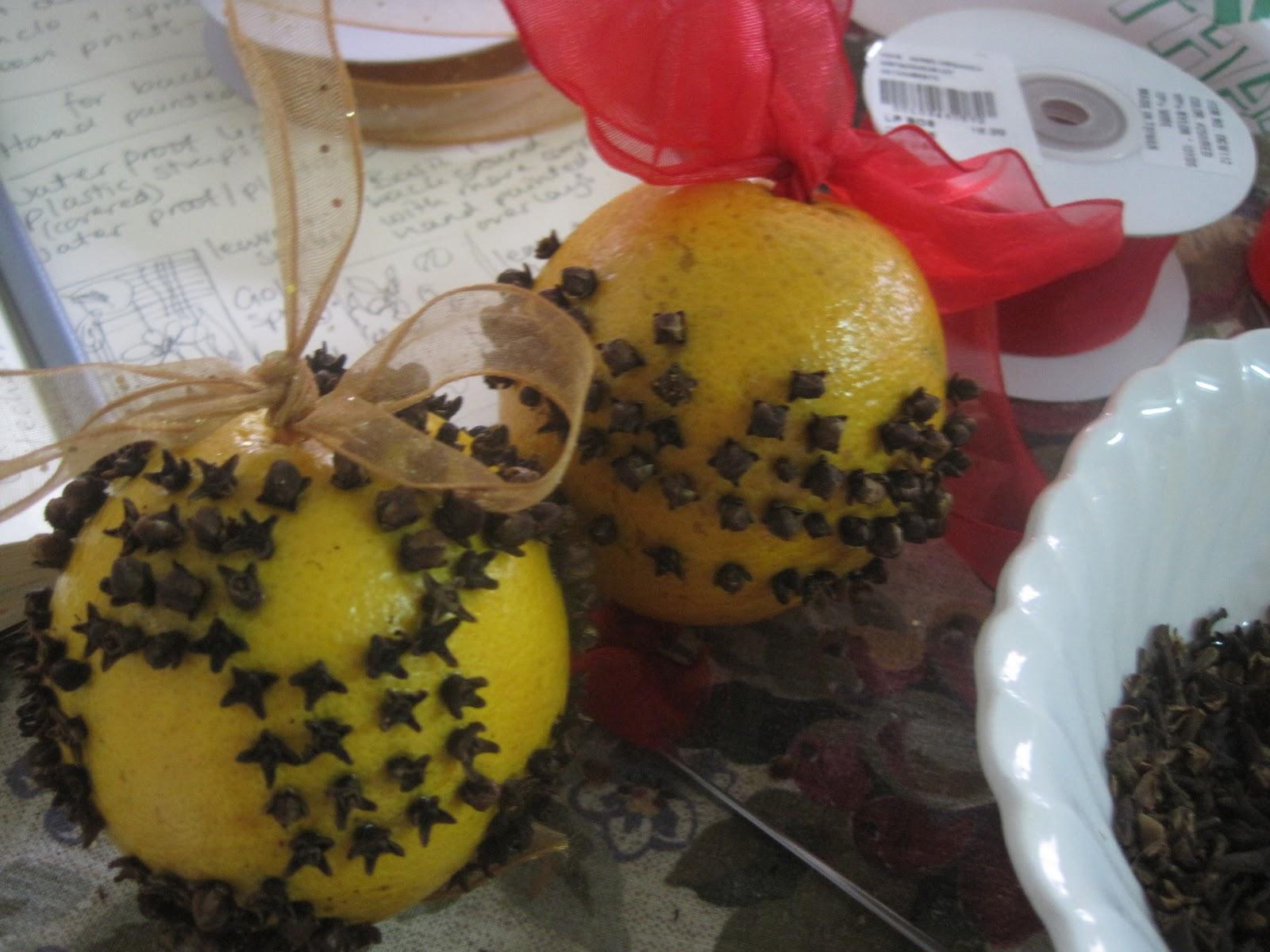Aimee's Blog: Textiles & Other Ramblings: Orange & Clove