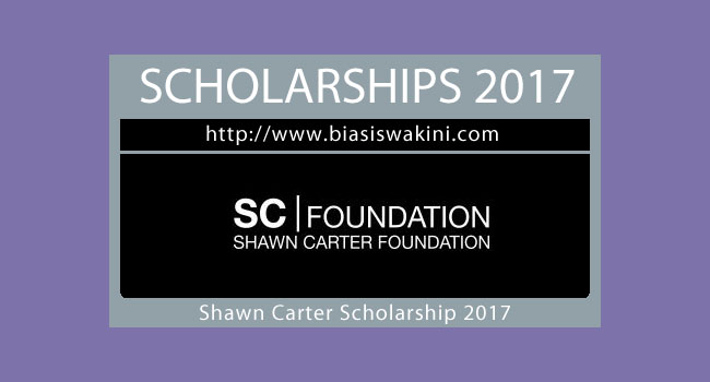 Shawn Carter Scholarship Fund 2017