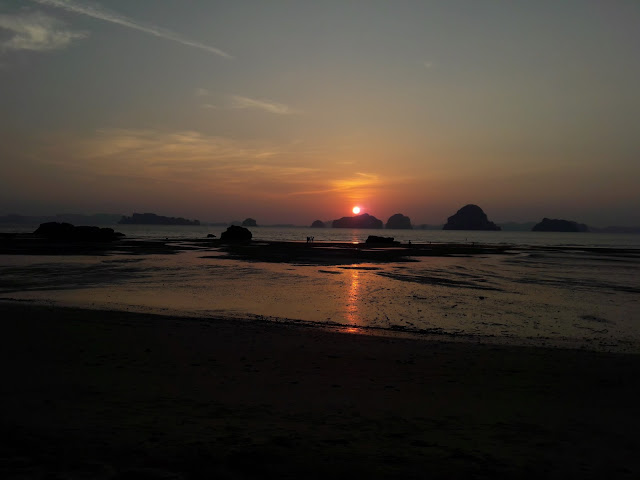 Sunset in Krabi - Thailand