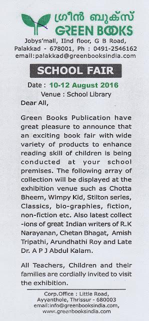 Book Week 2016 - Book Fair 10-12 August 2016
