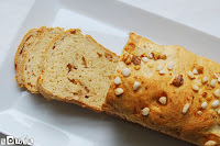 Pan de azúcar con nueces