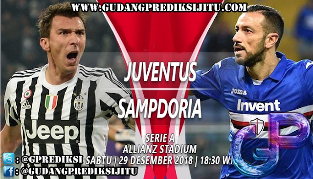 Prediksi Juventus VS Sampdoria 29 Desember 2018