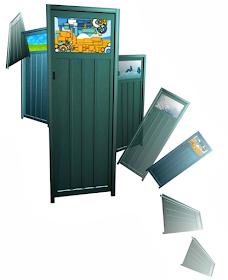 Lebih Baik Pintu Kamar Mandi PVC, Kaca Atau Alumunium - Pintu kamar mandi alumunium