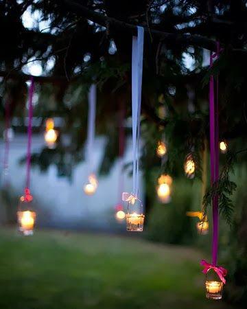 Ideias de decoração para um casamento ao ar livre