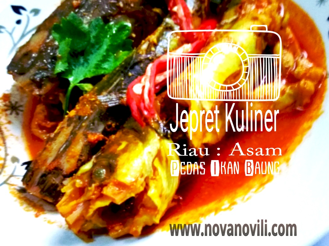 Jepret Kuliner Riau Asam Pedas Ikan Baung Nashhah