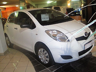 Сars for sale in Cape Town 2011 Toyota Yaris Zen 3