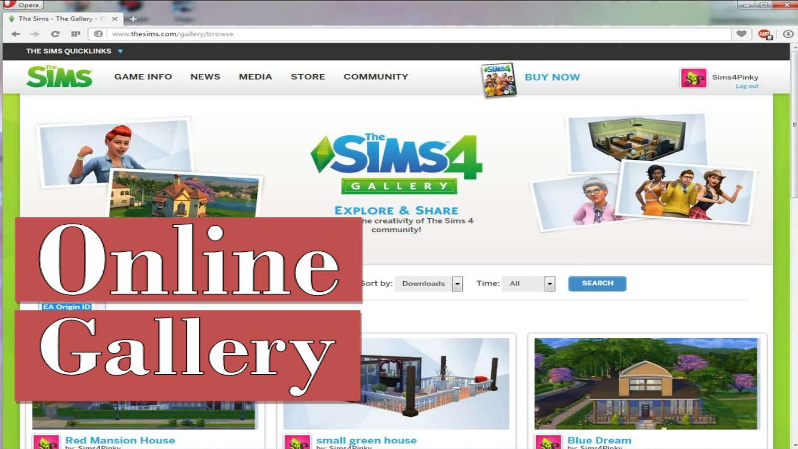 the sims 4 tutorial online gallery