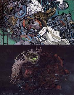 http://alienexplorations.blogspot.co.uk/2017/12/sylvaindespretz-organic-skullship.html