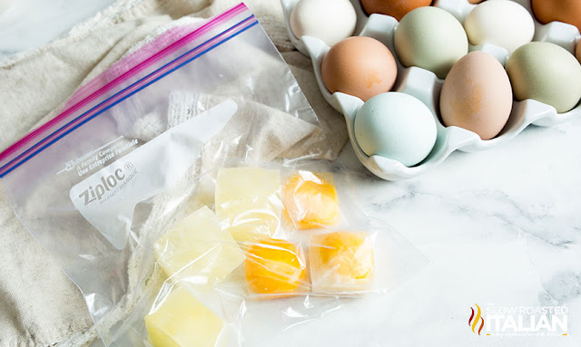 How to Freeze Egg Whites and Egg Yolks