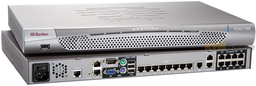 Jungle-Information Technology: Raritan KVM's and Cisco UCS servers