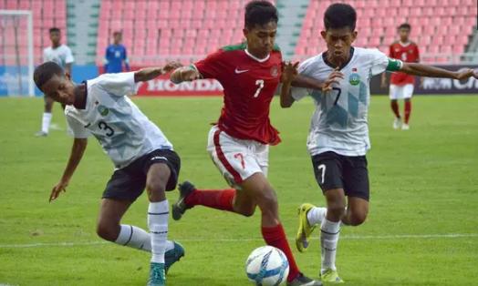 AGEN BOLA - Gol Semata Amanar Abdillah Wayang Tim Nas u-16 Kalahkan Thailand
